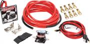 Wiring Kit - Ignition/Battery - Heavy Duty - Battery Cable/Solenoid/Switch Panel/Terminals - 4 Gauge - Kit