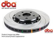 DBA 4X4 SURVIVAL SERIES BRAKE ROTOR 4000 XS CROSS-DRILLED & SLOTTED - FRONT