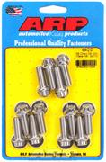 Intake Manifold Bolt Kit  Chevrolet Small Block SS 12pt