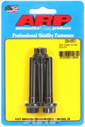 Lower Pulley Bolts, Black Oxide, 12-Point, Chevy, Small, Big Block, Set of 3
