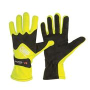 Driver Gloves OMP Karting KS-4 Yellow