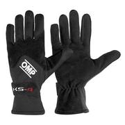 Driver Gloves OMP Karting KS-4 Black