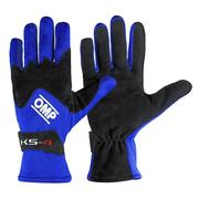Driver Gloves OMP Karting KS-4 Blue