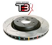 Toyota Supra - DBA disc brake - 4000 series - T3 Slotted - FRONT