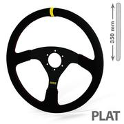 RRS Veloce 3 Flat Spokes Steering Wheel – 350
