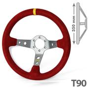 RRS Corsa 3 Dished Aluminium Spokes 90 – 350 Red Steering Wheel