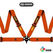 RRS FIA EVO 4 2016 Orange Harnesses (4pts) / Yellow Logos