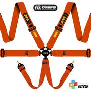 RRS FIA EVO 6 2016 Orange Harnesses (6pts) / Yellow Logos