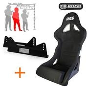 RRS FIA Expert 2 Racing Seat Black 2016