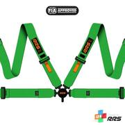 RRS FIA EVO 4 2016 Green harnesses (4pts) / Orange logos