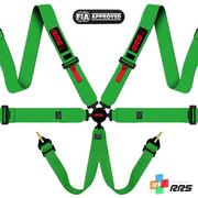 RRS FIA EVO 6 2016 Green harnesses (6pts) / Red logos