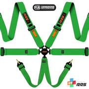 RRS FIA EVO 6 2016 Green harnesses (6pts) / Orange logos