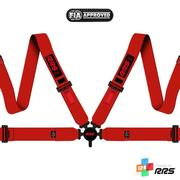 RRS FIA EVO 4 2016 Red harnesses (4pts) / Red logos