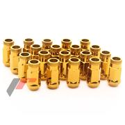 Forged Steel - Nuts M12x1,5 45mm GOLD