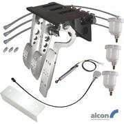 Top Mount Bulkhead Fit DBW Accelerator Pedal Box With Alcon Master Cylinders