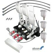 Floor Mount Cockpit Fit DBW Accelerator Pedal Box With Alcon Master Cylinders