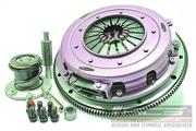 Xtreme Performance - 270mm Organic Twin Plate Clutch Kit Incl Flywheel & CSC - LS1 5.7L - 8Cyl - GEN4