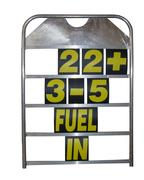 Obp Alloy Medium Size Pit Board