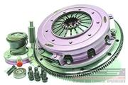 Xtreme Performance - 270mm Organic Twin Plate Clutch Kit Incl Flywheel & CSC - Corvette - 8Cyl - GTS - LS2 6.0L