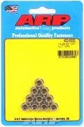 ARP 12-Point Nuts - 1/4 in.-28 RH Thread, Set of 10
