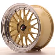 JR Wheels -  JR23 18x8 ET30-45 Custom Gold