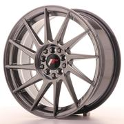 Japan Racing JR22 17x7 ET25 4x100/108 Hyper Black
