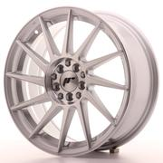 Japan Racing JR22 17x7 ET25 4x100/108 Machined Silver