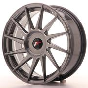 JR Wheels -  JR22 17x7 ET35-40 Custom Hyper Black