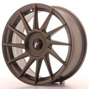 JR Wheels -  JR22 17x7 ET35-40 Custom Matt Bronze