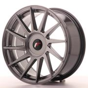 JR Wheels -  JR22 17x8 ET25-35 Custom Hyper Black