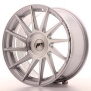 JR Wheels -  JR22 17x8 ET25-35 Custom Machined Silver