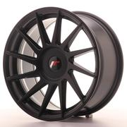 JR Wheels -  JR22 17x8 ET25-35 Custom Matt Black