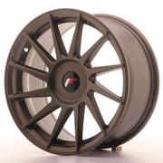 JR Wheels -  JR22 17x8 ET25-35 Custom Matt Bronze