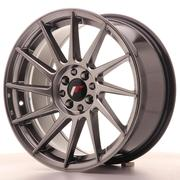 Japan Racing JR22 17x8 ET35 4x100/114 Hyper Black