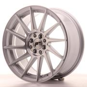 Japan Racing JR22 17x8 ET35 4x100/114 Machined Silver
