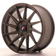 Japan Racing JR22 17x8 ET35 5 Stud Custom Matt Bronze