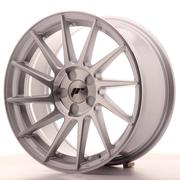 Japan Racing JR22 17x8 ET35 5 Stud Custom Machined Silver