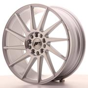 JR Wheels - JR22 18x7,5 ET35 5x100/120 Machined Silver