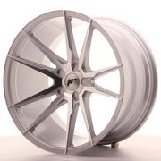 Japan Racing JR21 20x11 ET30-50 5H Custom Silver Machined