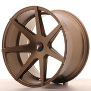 Japan Racing JR20 20x11 ET20-30 5H Custom Matt Bronze