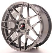 Japan Racing JR18 17x8 ET25-35 4H Custom Hiper Black