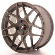 Japan Racing JR18 17x8 ET25-35 4H Custom Matt Bronze