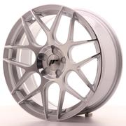 Japan Racing JR18 18x7,5 ET35-40 Custom 5H Silver Machined