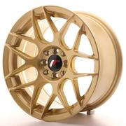 Japan Racing JR18 17x7 ET20-40 Custom Gold
