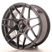 Japan Racing JR18 17x8 ET35 5H Custom Hiper Black