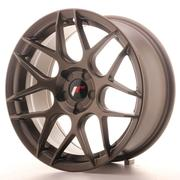 Japan Racing JR18 17x8 ET35 5H Custom Matt Bronze