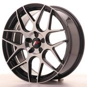 Japan Racing JR18 18x7,5 ET35-40 Custom 5H Black Machined