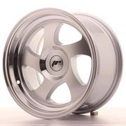 Japan Racing JR15 15x8 ET20 Custom Machined Silver