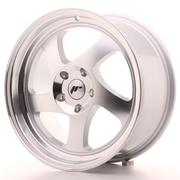 Japan Racing JR15 17x8 ET35 Custom Silver Machined