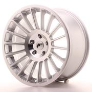 Japan Racing JR16 19x10 ET25-35 5H Custom Silver Machined